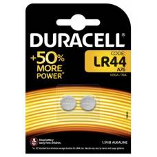 Duracell battery for clock + calculator lr44 1.5v blist 2 pcs