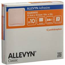 Allevyn adhesive dressing 12.5x12.5cm 10 pcs