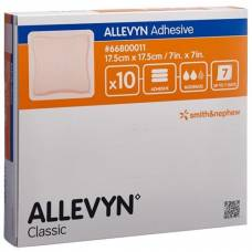 Allevyn Adhesive dressing 17.5x17.5cm 10 pcs