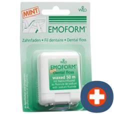 Emoform dental floss mint 50m