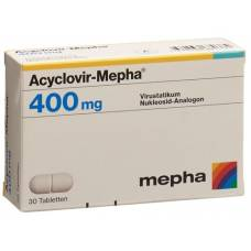 Acyclovir 400 mg tbl mepha 30 pcs