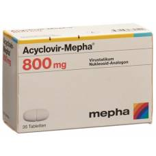 Acyclovir 800 mg tbl mepha 35 pcs
