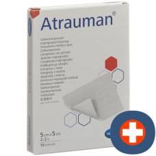 Atrauman ointment 5x5cm sterile 10 pcs