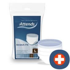 Attends stretchfit network pants 90-120cm l 3 stk