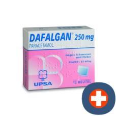 Dafalgan plv 250 mg child btl 12 pcs