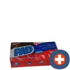 Pad original pan scourer 4 pcs