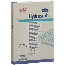 HYDROSORB hydrogel dressing 5x7.5cm sterile 5 pcs