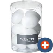 Balthasar floating candle white 10 pcs