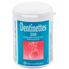Dentinettes brausetabl 200 pcs