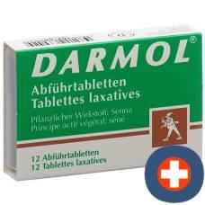 Darmol laxative tablets 12 pcs