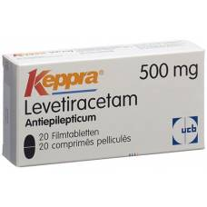 Keppra filmtabl 500 mg of 20 pcs