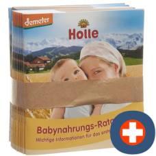 Holle baby food advisor german 15 pcs