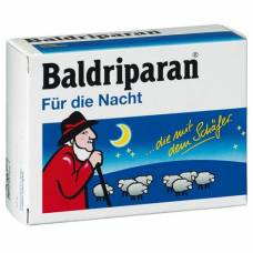 Baldriparan for the night drag 60 pcs
