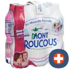 Mont roucous mineral pet 6 x 1.5 lt
