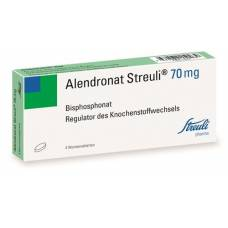 Alendronate tablets 70 mg streuli week 4 pcs