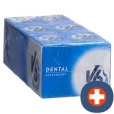V6 dental care gum peppermint box 24