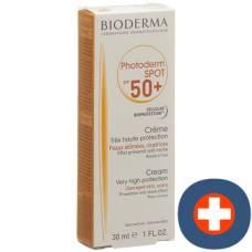 Bioderma photoderm spot cream sun protection factor 50 + 30 ml