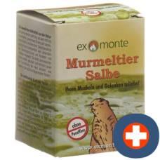 Exmonte marmot ointment pot 100 ml