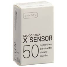 Glucocard x-sensor test strip 50 pcs