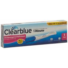 Clearblue pregnancy test rapid detection