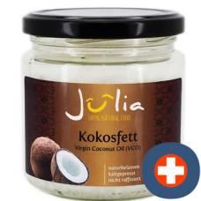 Julia virgin coconut oil; organic coconut fat 300 g