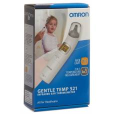 Omron ear thermometer gentle temp 521