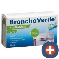Bronchoverde hustenlöser gran 50 mg 10 pcs
