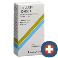Dibase drop of 10000 iu / ml fl 10 ml