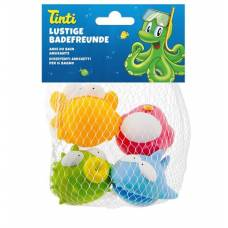 Tinti funny swimmers set of 4 german / french / italian