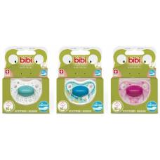Bibi nuggi happiness dental silicone 16+ with ring favorites assorted sv-a