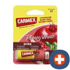 Carmex lip balm premium pomegranate spf 15 stick 25.4 g
