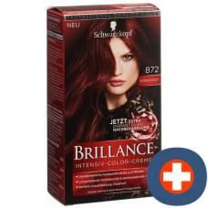Brillance 872 intense red