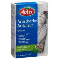 Abbey artichoke bio plus kaps 60 pcs