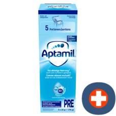 Milupa aptamil pre portions of 5 x 22.8 g