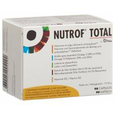 Nutrof total vit trace element omega-3 cape vitamin d3 90 count