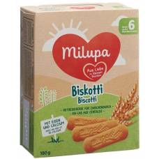 Milupa biscuits biskotti 180 g