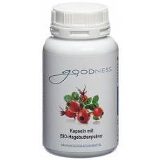 Goodness bio-rosehip powder kaps 600 mg ds 150 pcs