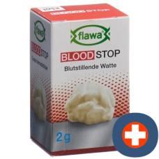 Flawa Hemostatic cotton sterilized glass 2 g