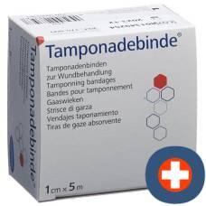 Dermaplast tamponadebinde 1cmx5m sterile