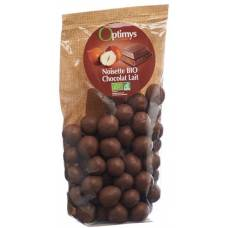 Optimy enjoyment hazelnuts milk chocolate bio 150 g