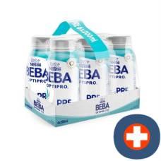 Beba optipro pre from birth ready to drink 6 x 200 ml