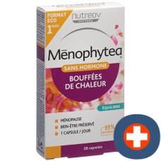 Menophytea hot flashes without hormones cape blist 28 pcs