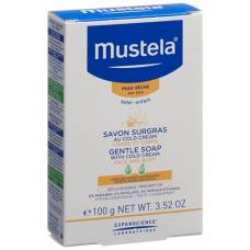 Mustela bb nachfettende soap with cold cream 100g