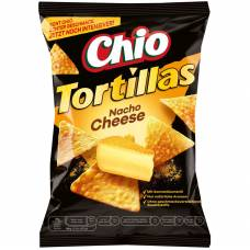 Chio nacho tortilla chips with cheese