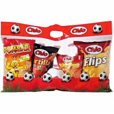 Chio snack bag with a ball 4 varieties