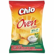 Chio sour cream oven chips