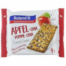 Roland apple chia seed crackers