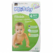 My baby maxi 4 diapers 7-17kg 2 pieces